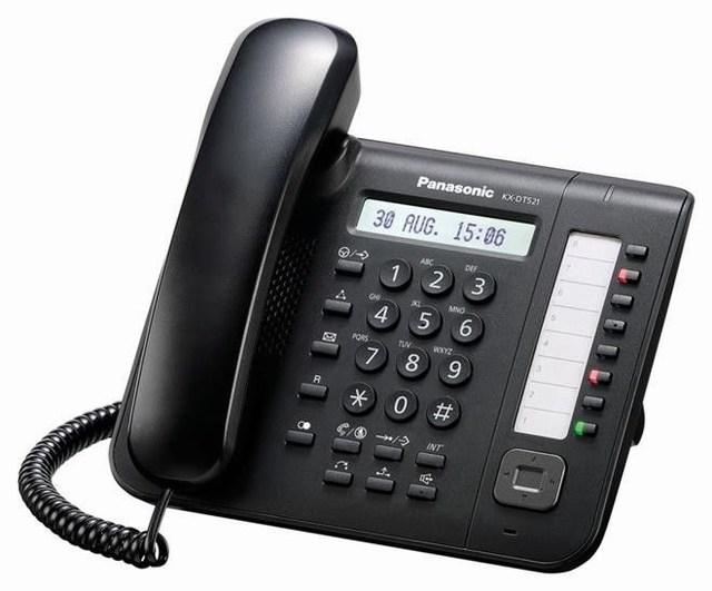 Điện thoại lập trình Panasonic KX-DT521X