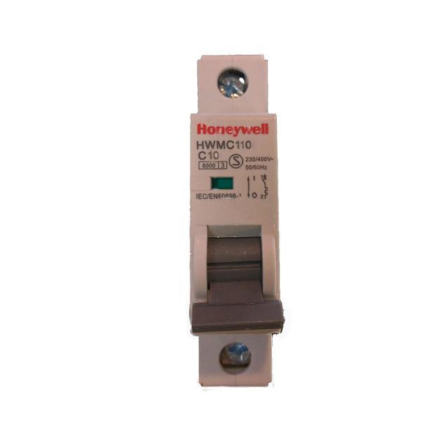 Cầu dao tự động MCB 1 cực 10A HONEYWELL HWMC110