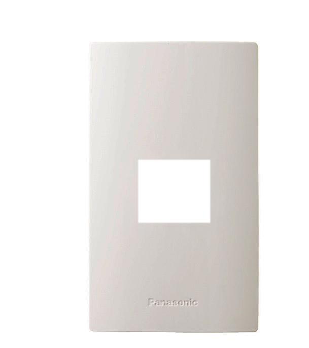Mặt góc vuông dùng cho 1 thiết bị PANASONIC WZV7841W