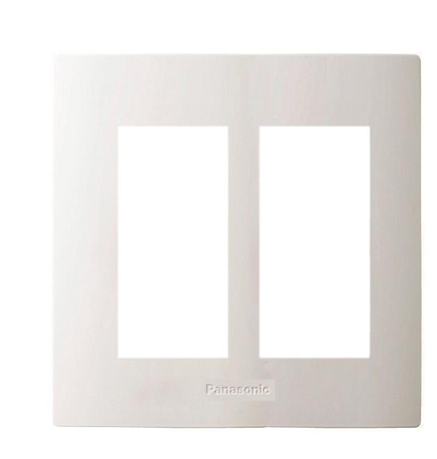 Mặt góc vuông dùng cho 6 thiết bị PANASONIC WZV7846W
