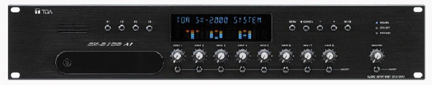 Bộ điều khiển âm thanh ngõ vào TOA SX-2100AI