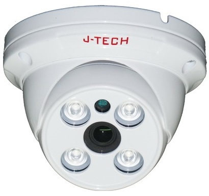 1.0 Megapixel JI TECH TVI5130 Infrared Dome Camera