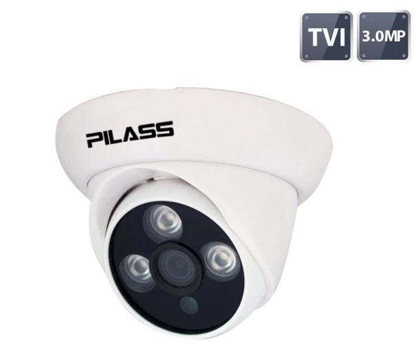 Camera Dome HD-TVI hồng ngoại 3.0 Megapixel PILASS ECAM-501TVI 3.0
