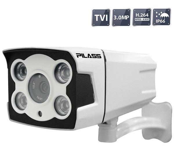 Camera HD-TVI hồng ngoại 3.0 Megapixel PILASS ECAM-701TVI 3.0