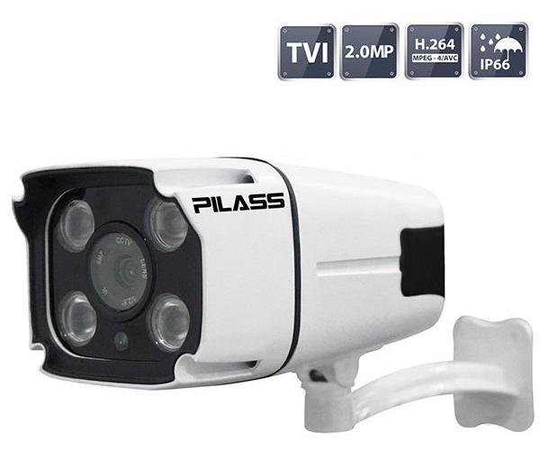 Camera HD-TVI hồng ngoại 2.0 Megapixel PILASS ECAM-702TVI 2.0