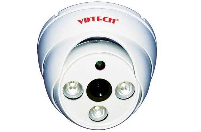 Camera HD-CVI Dome hồng ngoại VDTECH VDT-666CVI 1.0