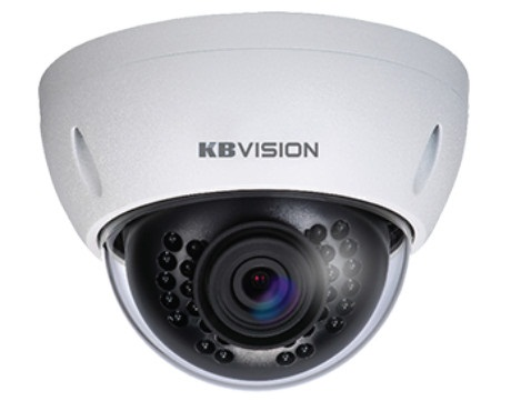 Infrared IP Dome Camera 2.0 Megapixel KBVISION KX-2004MSN