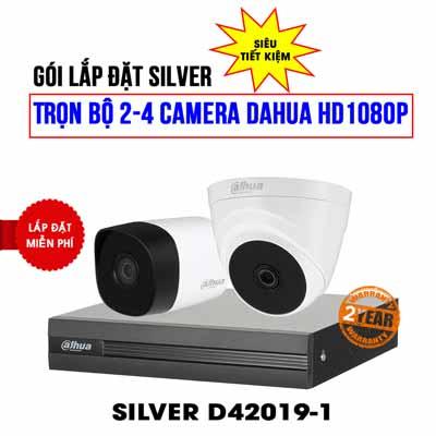 Trọn bộ 2 camera DAHUA HD1080P cho gia đình