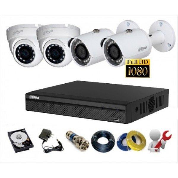 Trọn bộ camera Dahua chuẩn HD720P – 1080P giá tốt