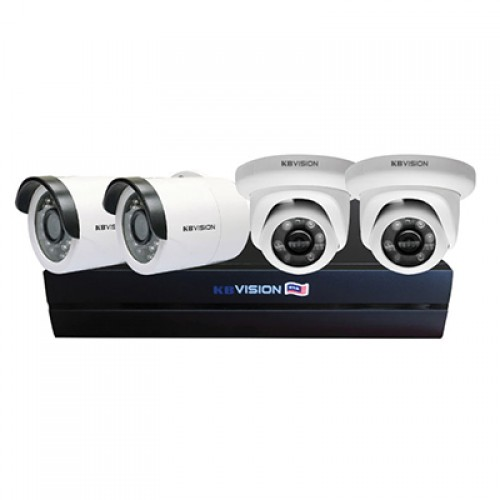 Bộ KIT camera IP KBVISION KIT 4