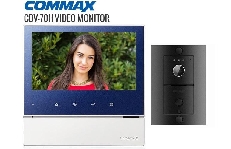 Bộ chuông cửa COMMAX CDV-70H/DRC-4L
