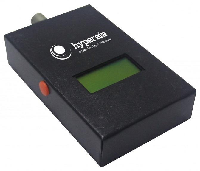 Máy đo tần số bộ đàm, đo các loại bộ đàm HYPERSIA