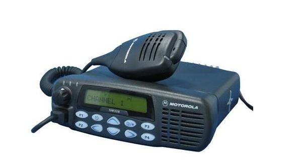Máy bộ đàm cố định-gắn xe Motorola GM338 VHF/UHF (25W)