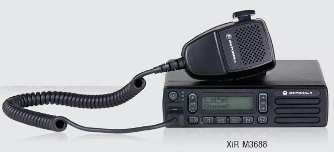 Máy bộ đàm cố định-Gắn xe kỹ thuật số Motorola XIR M3688 25W