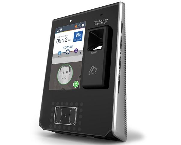 Máy kiểm soát-chấm công vân tay, thẻ, nhận dạng khuôn mặt VIRDI AC-7000