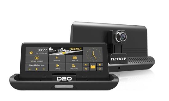 Thiết bị dẫn đường kết hợp ghi hình VIETMAP D20