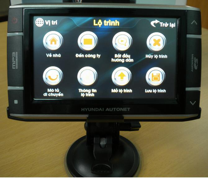 Máy định vị GPS dẫn đường Hyundai PND-4330K