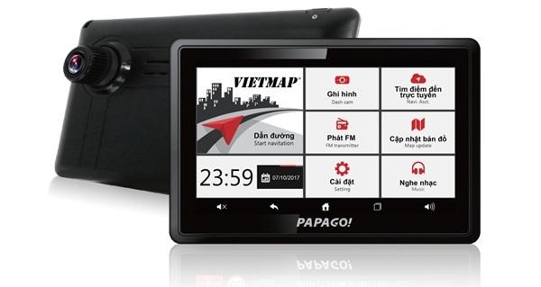 Máy định vị GPS dẫn đường PAPAGO WayGo!810