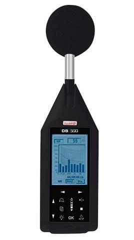 Máy đo tiếng ồn có phân tích dải tần class 1 KIMO DB300/1