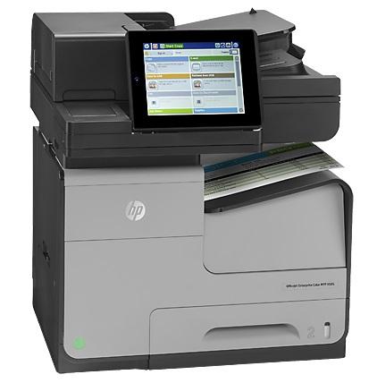 Máy in phun màu đa chức năng HP Officejet Enterprise Color MFP X585dn