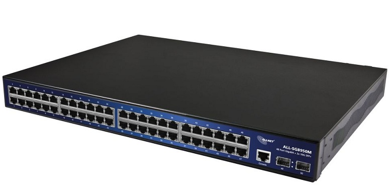 48-Port Gigabit + 2x 10G SFP + Managed Switch ALLNET ALL-SG8950M