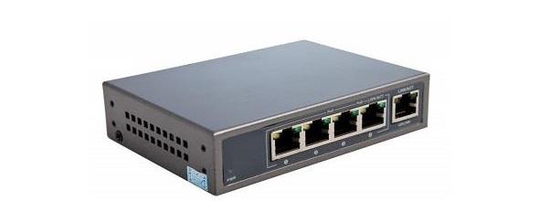 4-port 10 / 100Mbps PoE Switch KBVISION KX-SW04P1