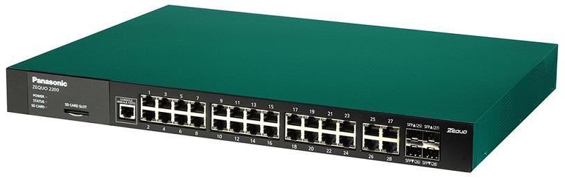 28-port 10/100 / 1000M + 4 SFP Switch PANASONIC PN26241