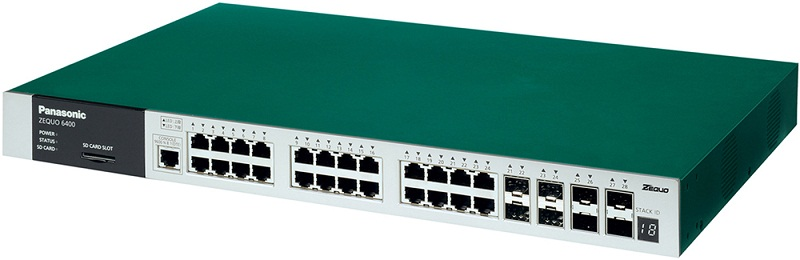 24 port 10/100 / 1000M Switch PANASONIC PN36240E