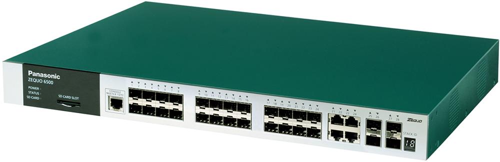 24 ports SFP + 4 port 10/100 / 1000M Switch PANASONIC PN36242E