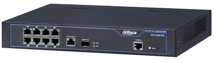 8 port 10 / 100Mbps PoE Switch DAHUA S1000-8TP