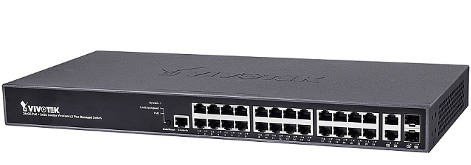 VivoCam L2 + Managed PoE Switch Vivotek AW-GEV-267A-370