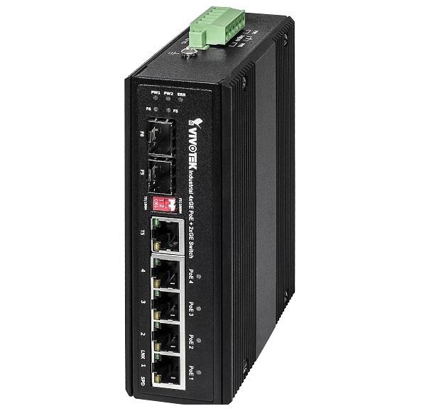 Industrial Unmanaged PoE Switch Vivotek AW-IHT-0600