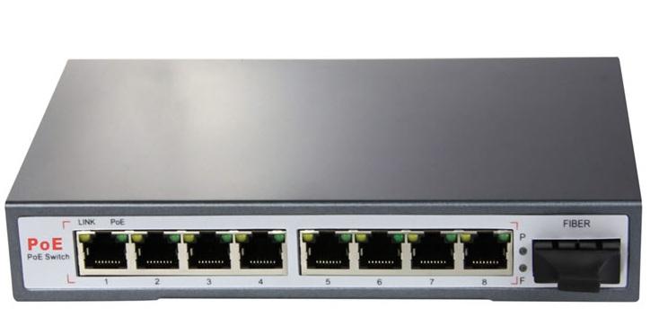 Chuyển mạch PoE 8 cổng 10/100 / 1000Mbps ĐIỆN THOẠI NO-AFG-82F