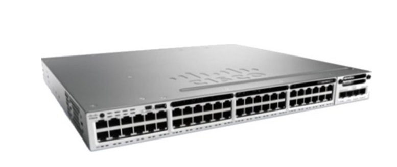 48-Port Ethernet Cisco Catalyst PoE Switch WS-C3850-48P-S