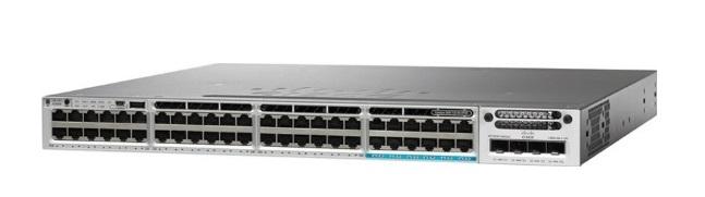48-Port Cisco Catalyst UPoE Switch WS-C3850-48U-L