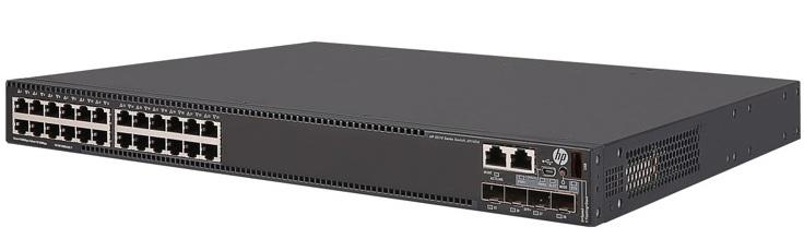 HP FlexNetwork 5510 24G PoE + 4SFP + HI 1-slot Switch JH147A