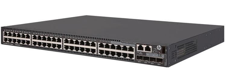 HP FlexNetwork 5510 48G 4SFP + HI 1-slot Switch JH146A