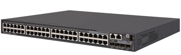 HP FlexNetwork 5510 48G PoE + 4SFP + HI 1-slot Switch JH148A