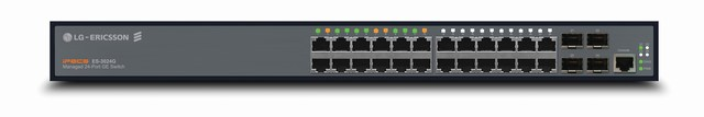 Bộ chuyển mạch 24 cổng 10/100 / 1000Mbps LG-NIC ES-3024G