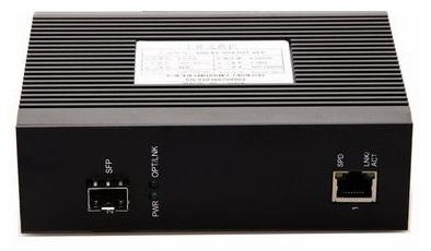 1-port 10 / 100Mbps Industrial Fiber Unmanaged Switch BTON BT-I950SM-S