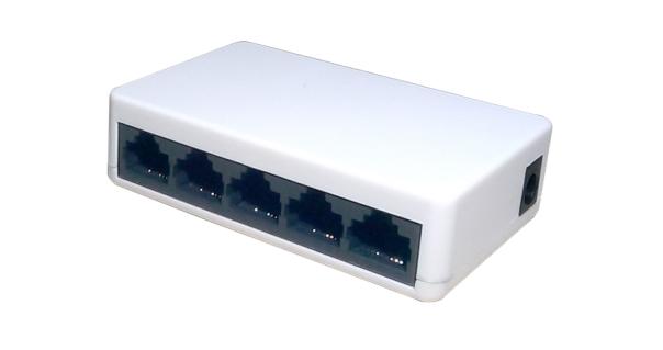 5-Port 10 / 100Mbps Unmanaged Switch Aptek SF500