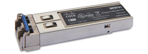 Bộ thu phát SFP mini-GBIC 100BASE-FX Cisco MFEFX1