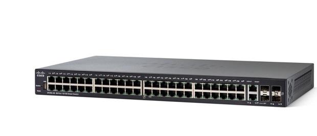 48-port 10/100 PoE+ Smart Switch CISCO SF250-48HP-K9-EU