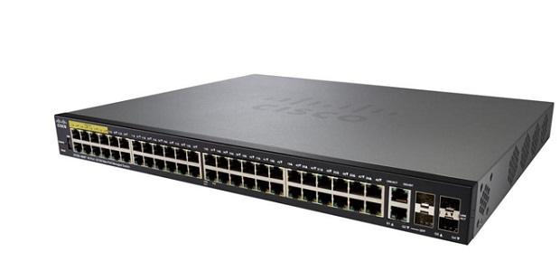 48-port 10/100 Managed Switch CISCO SF350-48-K9-EU