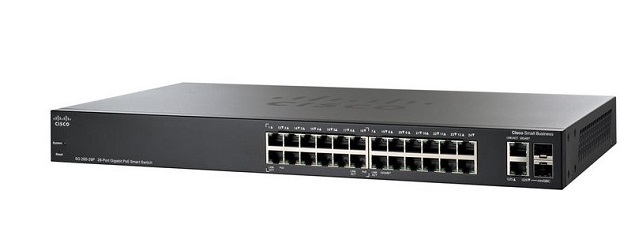 26-Port Gigabit PoE Smart Switch CISCO SG250-26HP-K9-EU