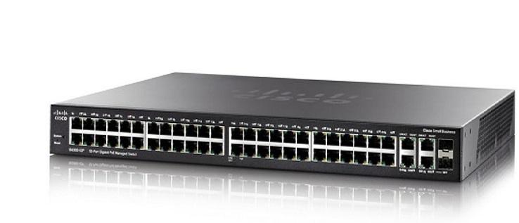52-Port Gigabit Max-PoE Managed Switch CISCO SG350-52MP-K9-EU