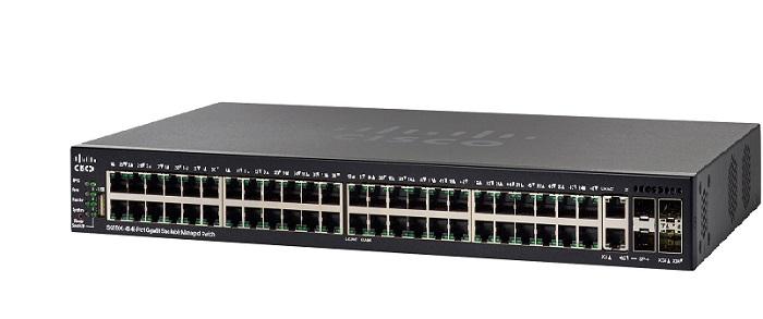 48-Port Gigabit Stackable Managed Switch CISCO SG550X-48-K9-EU