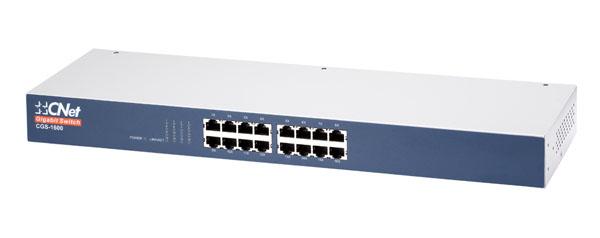 Bộ chuyển mạch Gigabit 16 cổng 10/100 / 1000Mbps CNet CGS-1600