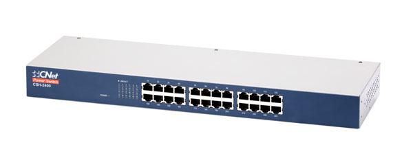 Bộ chuyển mạch 24 cổng 10 / 100Mbps CNet CSH-2400
