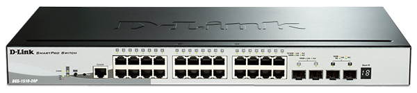 28-Port SmartPro Gigabit Managed PoE Switch D-Link DGS-1510-28P